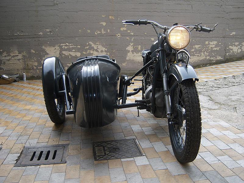 Bmw Sidecar R35